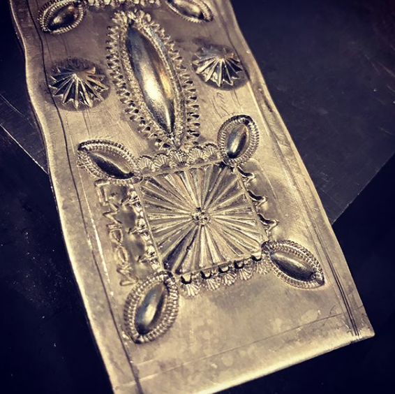 Repousse example 3